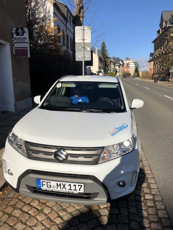 Bereitschafts-SUV im Einsatz