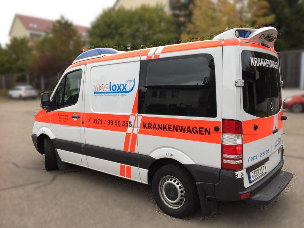 Der KTW der medloxx GmbH